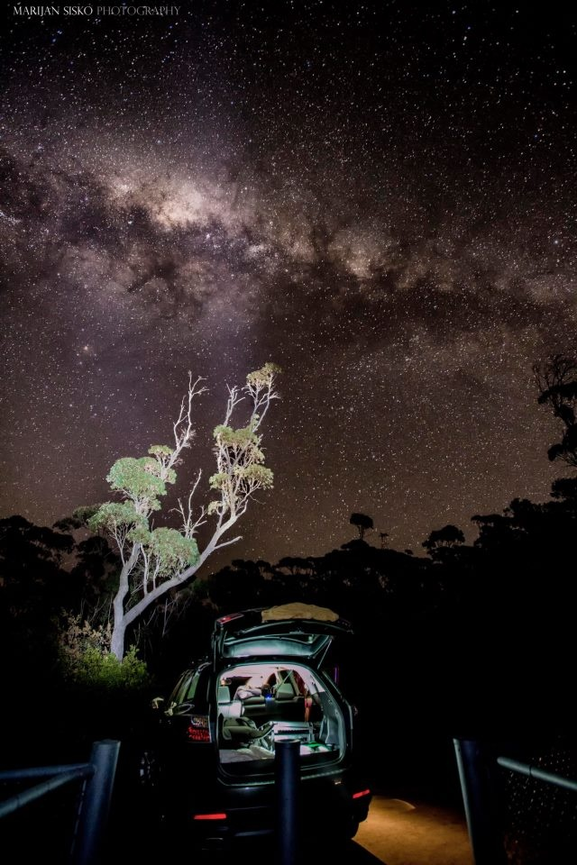 Spectacular camping roadside - Jamberoo, NSW - by Marijan Sisko   (New South Wales)