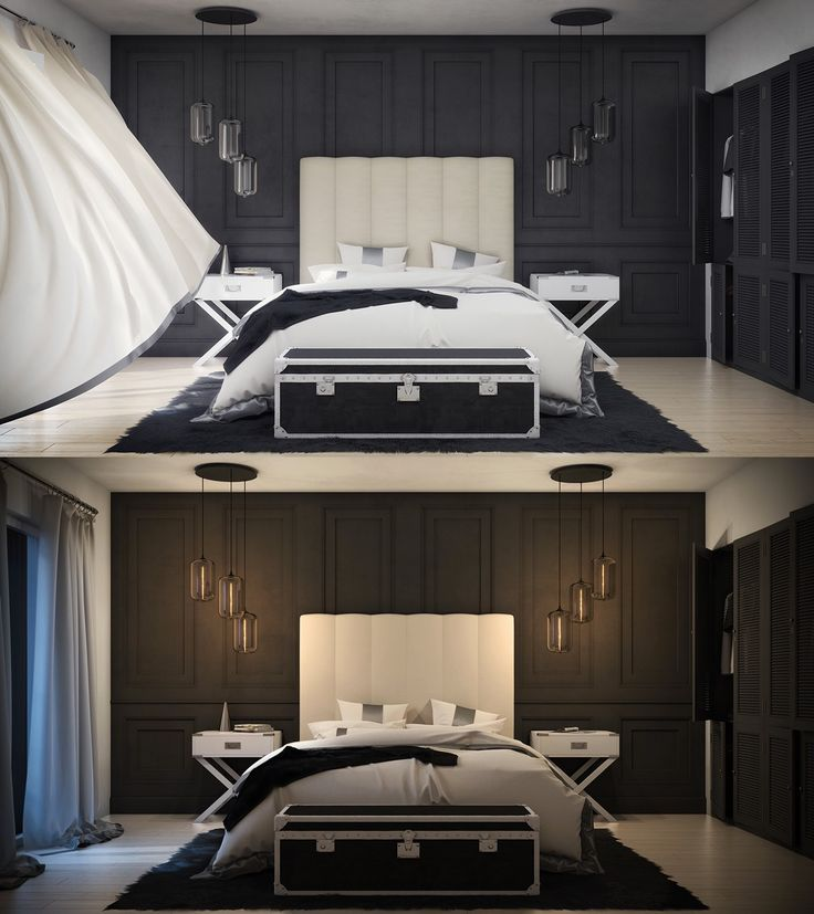 Dark Bedroom Design Ideas and Inspiration To Get The Relax Feel - Page 2 of 3 - Interiorcool.com | Interiorcool.com