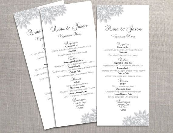 Best 25+ Wedding menu template ideas on Pinterest Wedding dinner - menu template for word