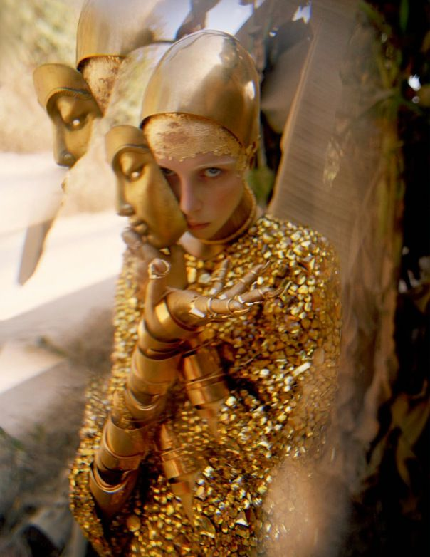 Edie Campbell by Tim Walker for W Magazine May 2014