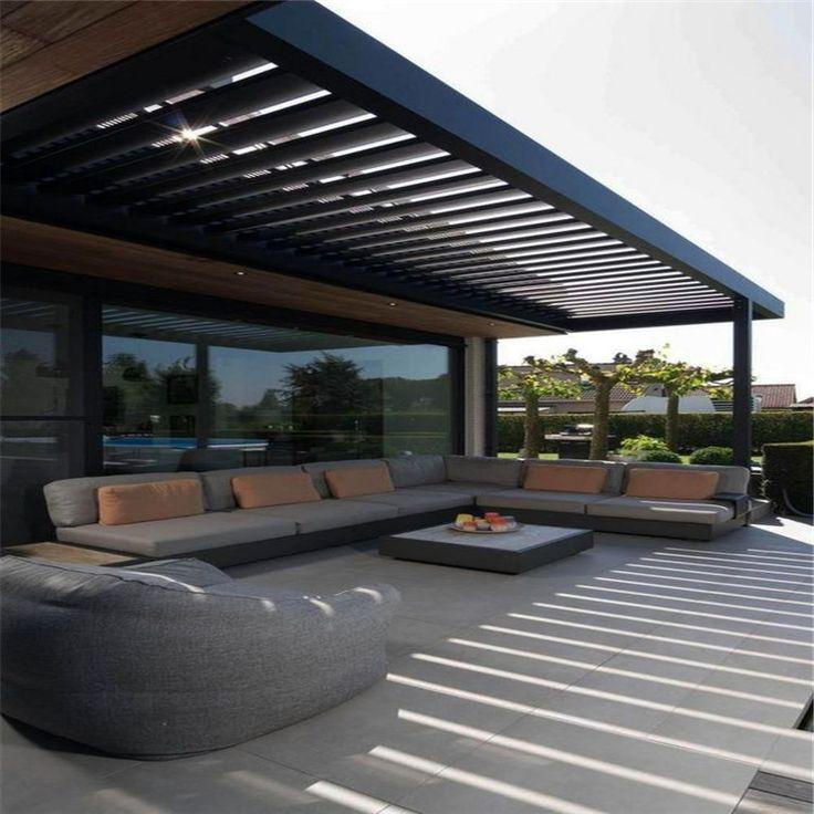 Topwindow Freestanding Aluminium Louvered Roof Garden