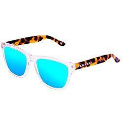 Hawkers Air Carey · Clear X, Gafas de Sol Unisex, Blue, One Size