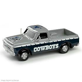 Dallas Cowboys Chevrolet Silverado Truck Sculpture