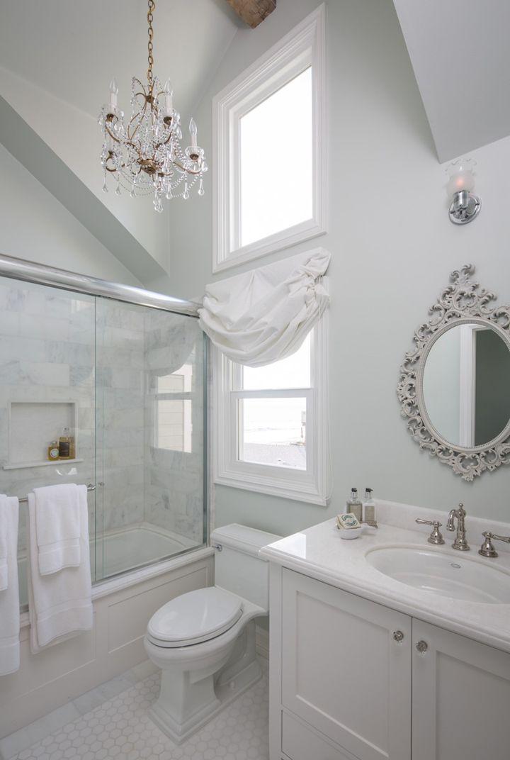 Pretty white bathroom   Kelly Ferm Inc.