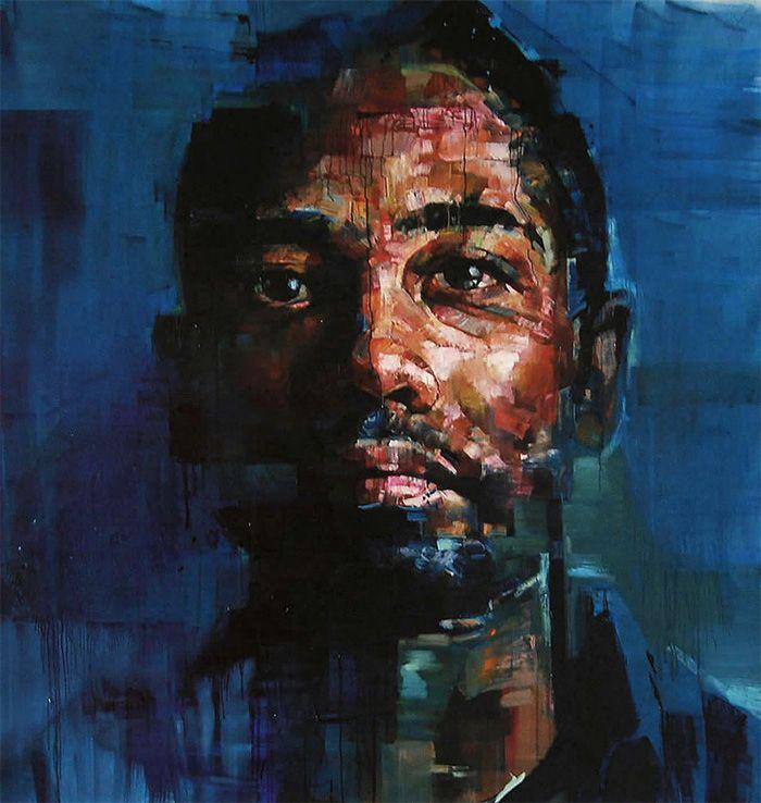 New Portraits by Andrew Salgado portraits painting