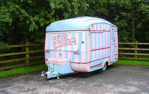 "Ice Cream Caravan ""Clough Head Visitor Centre"" Grane Road, Haslingden, Rossendale, Lancashire by mrrobertwade (wadey), via Flickr"