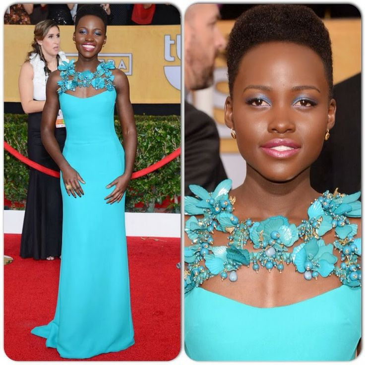 MYROYALS &HOLLYWOOD FASHİON: Lupita Nyong'o in Gucci – 2014 SAG Awards