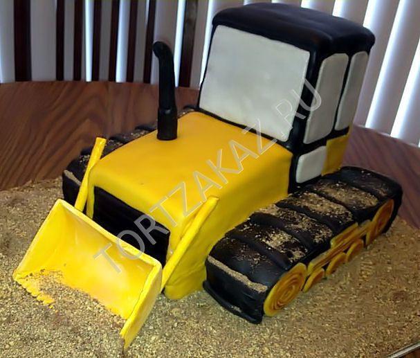 """Торт """"Трактор бульдозер"""" AVTO0010"""