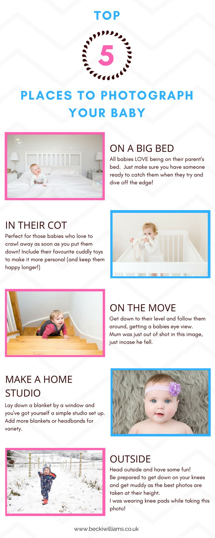 Top 5 Places to photography your baby.