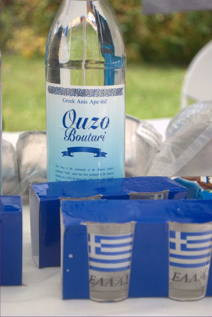 Greek Ouzo | Taken at the annual Greek Food festival held at St. Luke's Greek Orthodox Church.  First time drinking this firewater - I liked it.