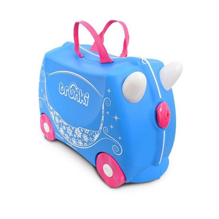 john-andy.com | Trunki Pearl The Princess Carriage Παιδική Βαλίτσα Ταξιδίου