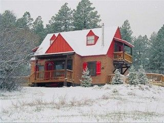 Pagosa Springs Cabin Rental: Storybook Cottage,salt Spa,frplc,wifi,views