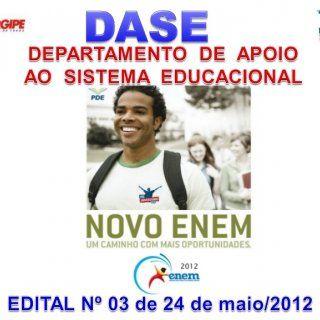 As informações obtidas a partir dos resultados do ENEM serão utilizadas para: Compor a avaliação de medição da qualidade do Ensino Médio no País. Subsidia. http://slidehot.com/resources/edital-enem-2012.56797/