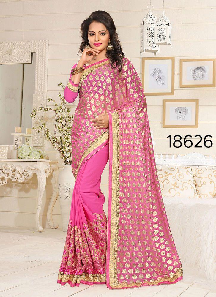 Bollywood Saree Designer Pakistani Dress Sari Indian Partywear Ethnic Wedding #KriyaCreation #SariSaree