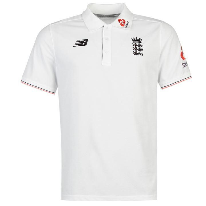 New Balance | New Balance England Polo Shirt | Cricket Polos