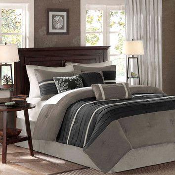Wayfair.com Madison Park Palmer 7 Piece Comforter Set