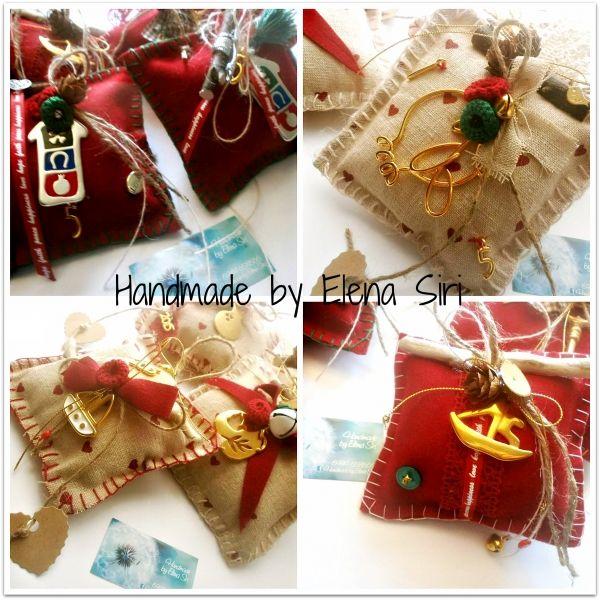 Χειροποίητα , μοναδικά γούρια Handmade by Elena Siri   myartshop