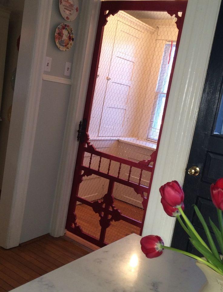 Hometalk | From Vintage Screen To Pantry Door