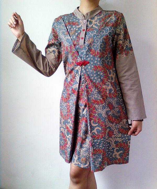 Fern Batik Dress