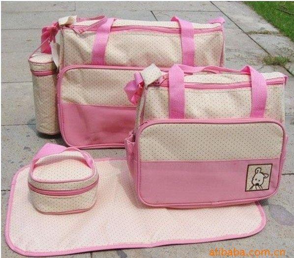 economico, Acquista direttamente dai fornitori cinesi: 7 colori dot design borse per pannolini baby bag pannolino 5pc/set maternità borsa a tracolla per la madre per la cura del bambino mummia donne borse da viaggio Voce specifiche:Materiale:Al di f