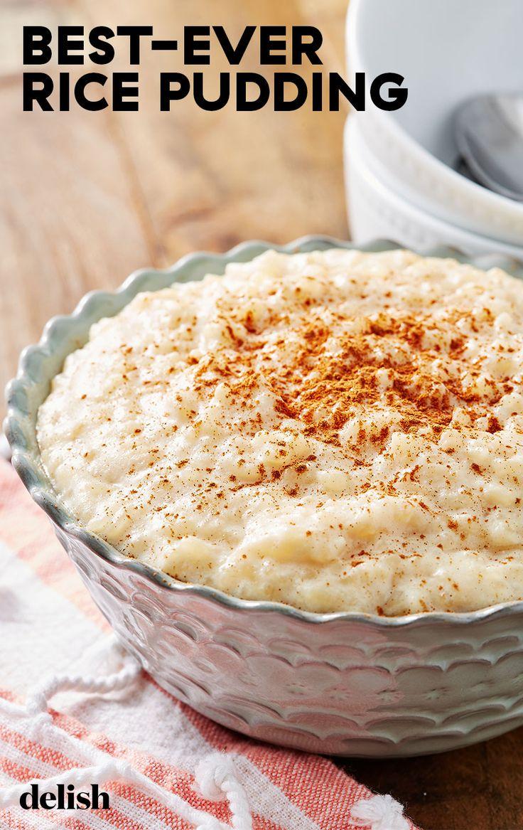 Best Ever Rice Pudding Recipe Best Rice Pudding Recipe