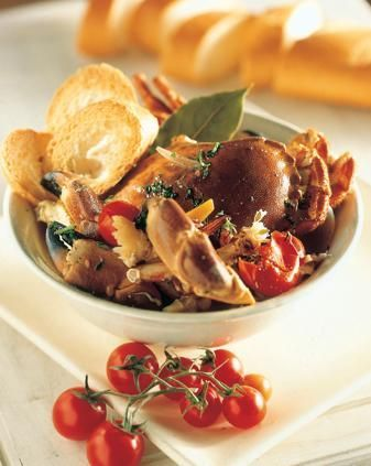 Cucina Sarda: zuppa di crostacei e seppie alla bosana   Ricette di ButtaLaPasta