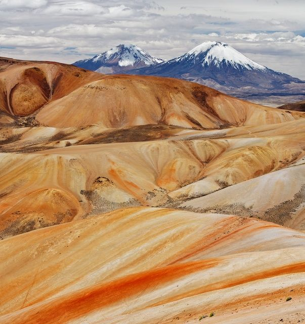 Painted Mountains, Lauca National Park, Chile (photo by Margaret Grobler)