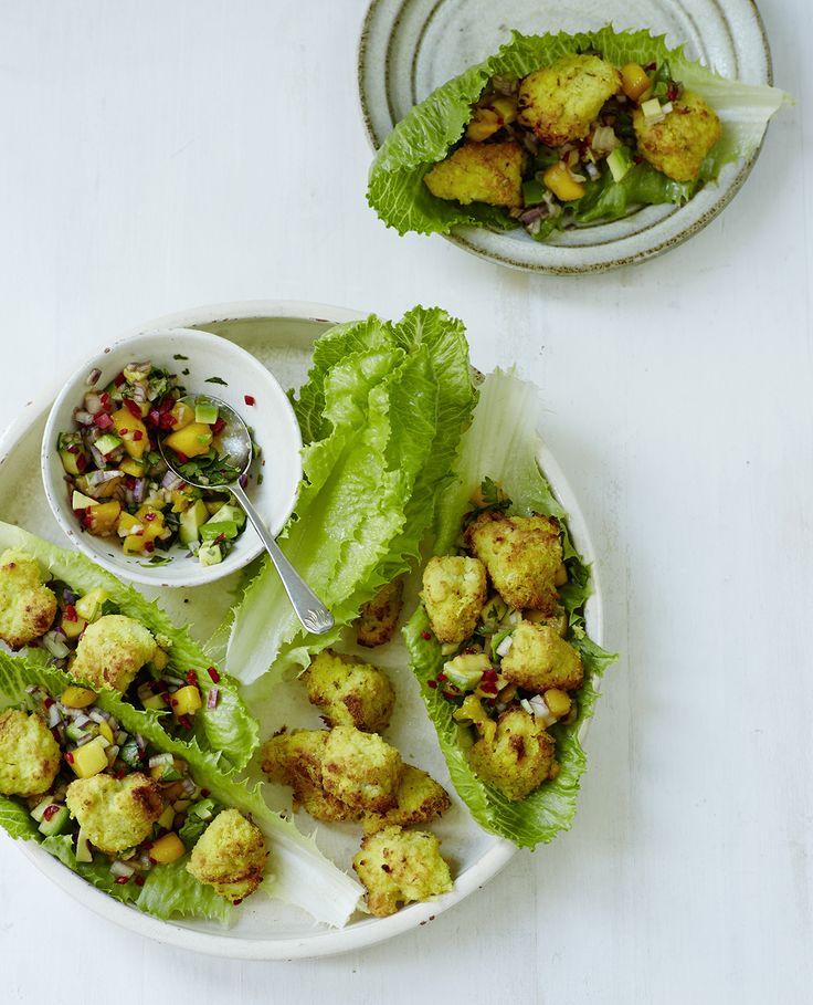 Recipe: Chicken Nuggets with Mango & Avocado Salsa by Amelia Freer