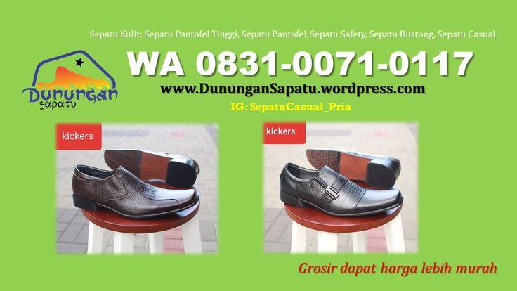 Grosir Sepatu Semi Formal Kulit Asli Jual Sepatu Guru Kulit Asli