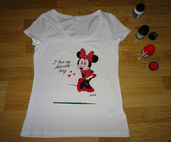 Tricou - Minnie Mouse #pictatmanual #tricouripictate