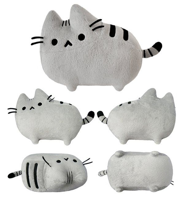 Peluche del gato Pusheen--Akiko: aww (this is one of the new words I learned at Pinterest!!)