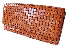 Purse in orange by Norwegian designer Cecilie Melli