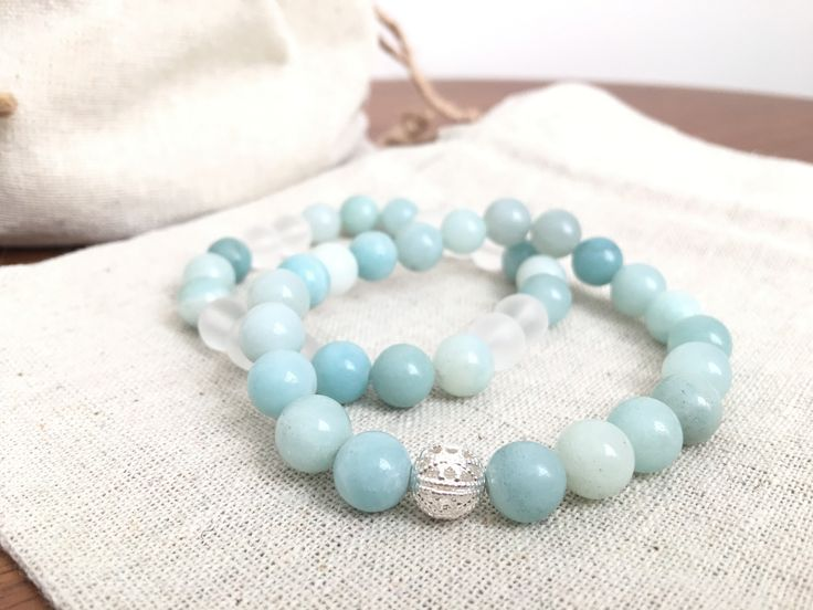Amazonite Bracelet Set