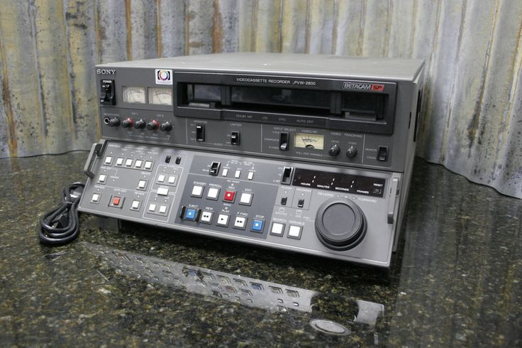 And here it is, the thing you were looking for. http://tincanindustries.com/products/sony-pvw-2800-betacam-sp-editing-video-record-deck-fully-tested-free-s-h If it is already sold, keep searching, there is plenty more to find.