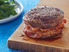 Bacon-Wrapped Filet Recipe : Ree Drummond : Food Network. Every year an associate sends us a box of gourmet filet mignons --- and this is the perfect, simple preparation. Wouldn't change a thing about this recipe!