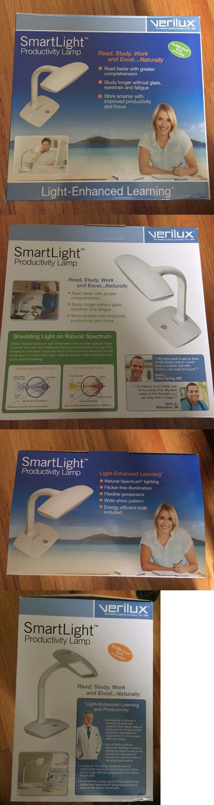 Light Therapy Devices: New Verilux Smart Light Productivity Lamp, White  Vd12 -> BUY