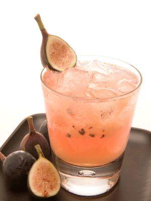 Fig Caipirinha Cocktail