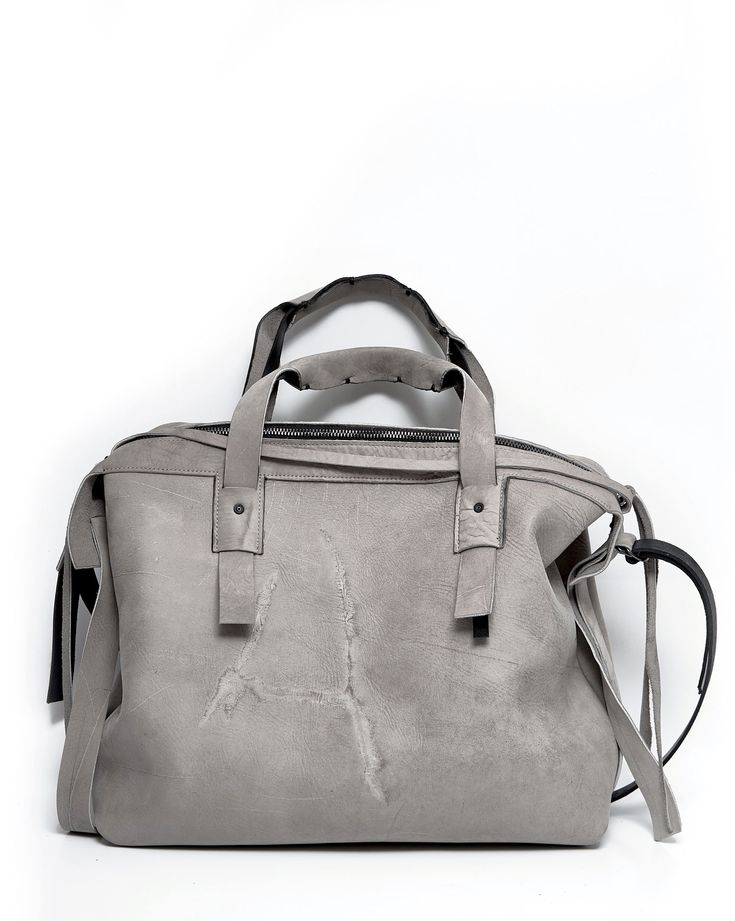 ytn7 – Leather briefcase 023Y-beige – - Size: 30х37x13cm - Material: Genuine leather, cotton - Handmade in Russia