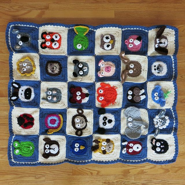 Baby Zoo Afghan Crochet Pattern : 17 Best images about mycrochet applique afghans on ...