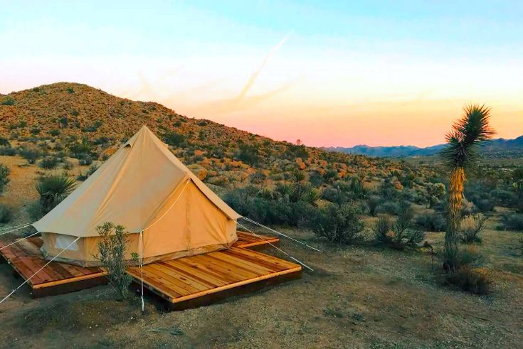 Glamping In California From $56 Per Night—Sunsets, S'mores & Starry Skies