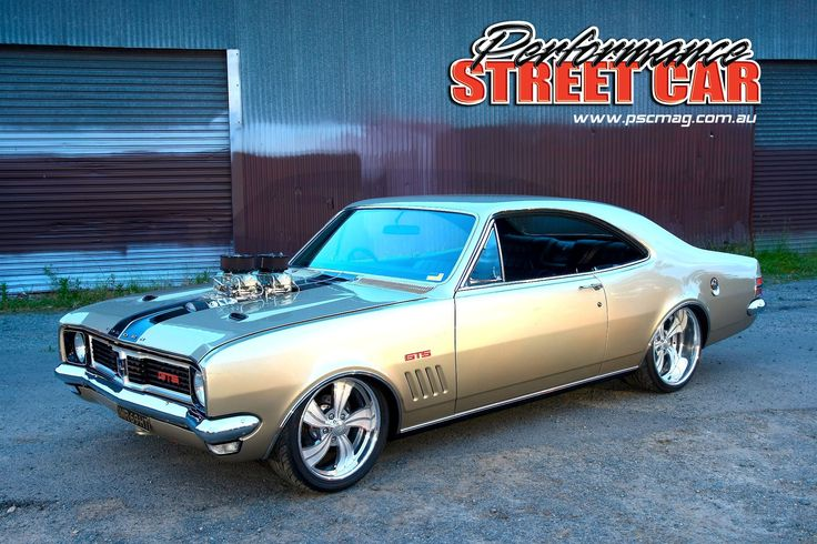 Blown 1969 Holden HT GTS Monaro