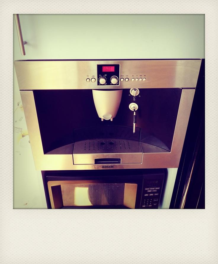 The coffee machine...constant fuel.