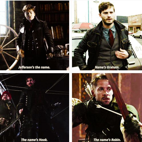 OUAT heartthrobs. Haha, remember when we all thought Graham dying was a…