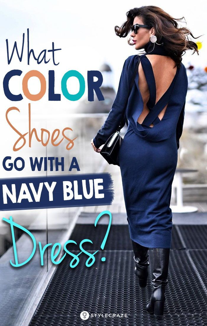 53ef7cb26395 What Color Shoes Go With A Navy Blue Dress   fashion  women  style ...