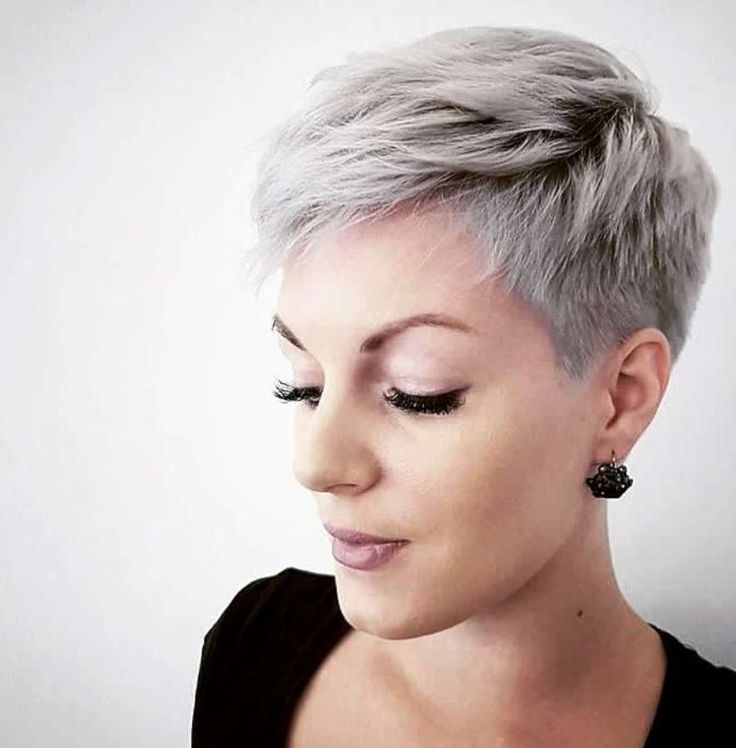 Short Hairstyle 2018  hair styles in 2019  Funky short hair Short grey hair Short hair styles