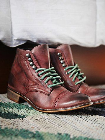 Free People Skyfall Lace Up Boot