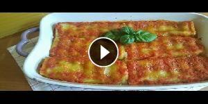 Rotolini di lasagne - La videoricetta