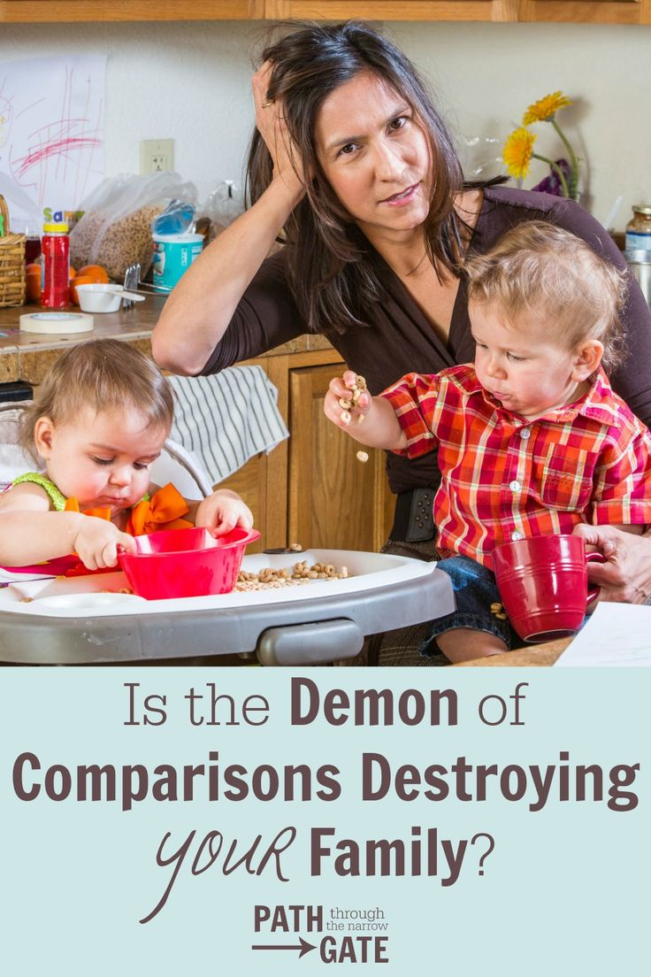 Are You Allowing the Demon of Comparison to Destroy Your Family?
