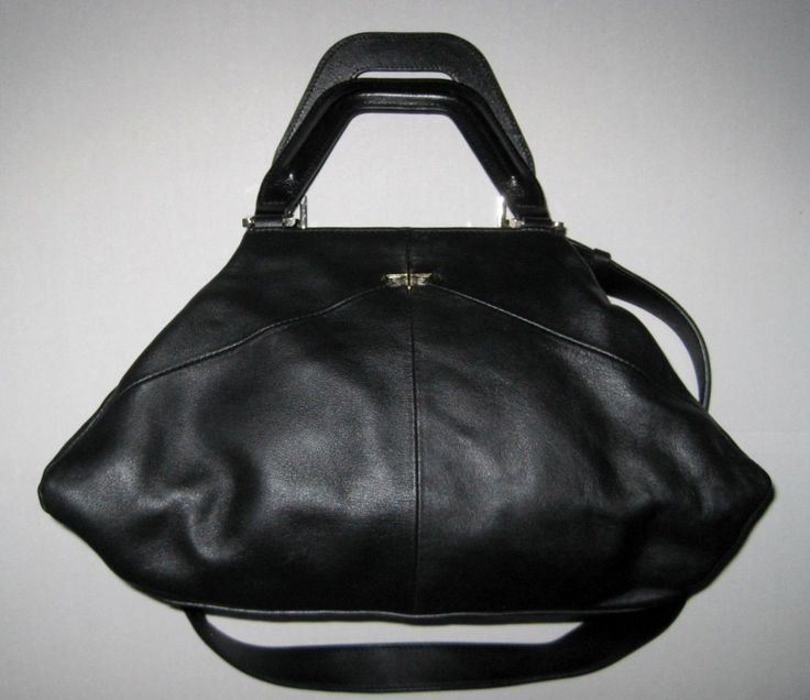 Item specifics   Condition: Pre-owned 	     		: 	     			 						 							 						 															 					   						  	An item that has been used or worn previously. See the seller's listing for full details and description of any imperfections. 									See all condition definitions– opens ... - #Handbags https://lastreviews.net/fashion/womens/handbags/pour-la-victoire-black-leather-satchel-handbag/