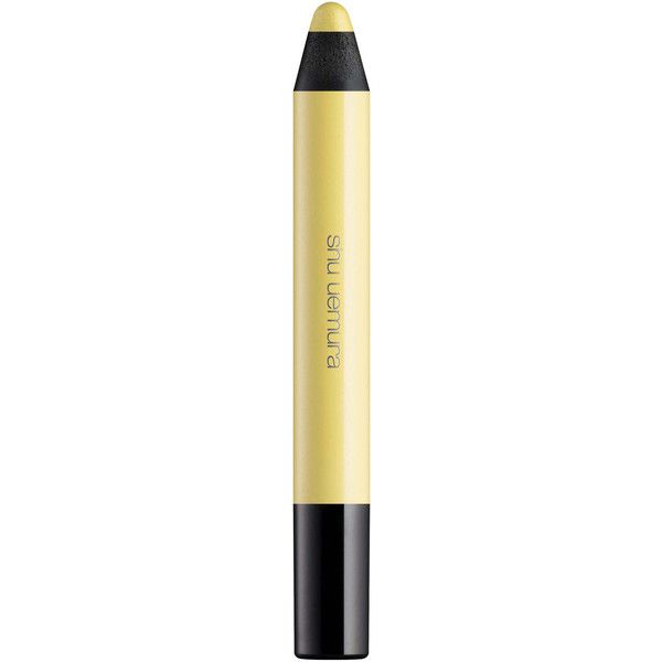 Shu Uemura Drawing Crayon in Yellow Gold found on Polyvore featuring beauty products, makeup, shu uemura cosmetics, shu uemura and shu uemura makeup